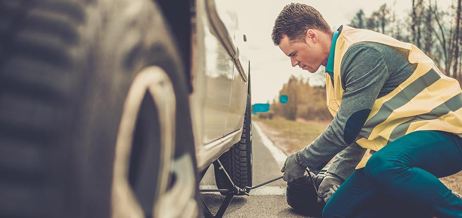 fitting tyres roadside assistance
